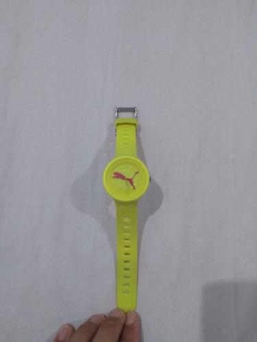 relógio puma feminino original novinho