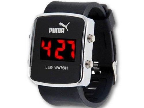 21973c622a7 Relógio Puma Masculino De Led Com Calendário - R  54