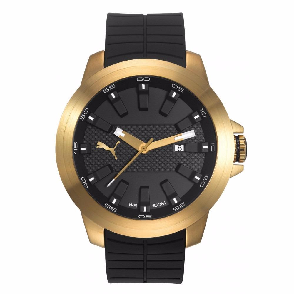 caa95bba43b Relógio puma masculino dourado original pu em mercado livre jpg 1000x1000 Relogio  puma dourado