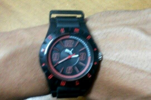 relógio puma masculino traction 96106g0pmnp2