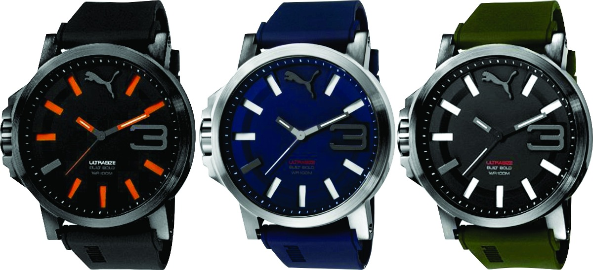 5874cb51bf1 relógio puma masculino ultrasize original 12 x s juros. Carregando zoom.