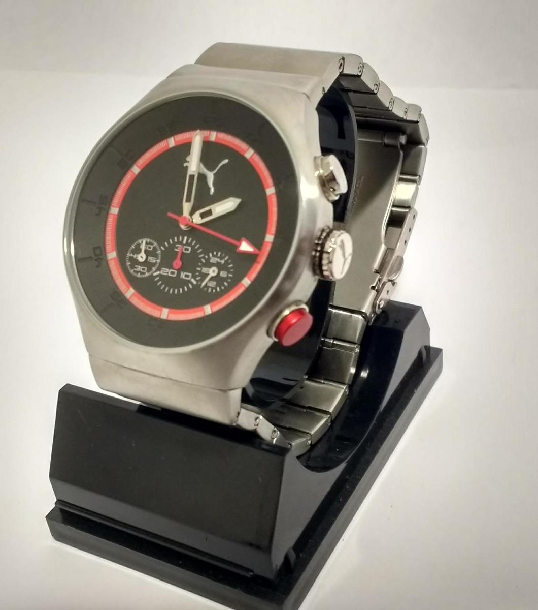 dd3e3ebf2ce Relógio puma masculino vermelho e preto original jpg 1060x1200 Relogio puma