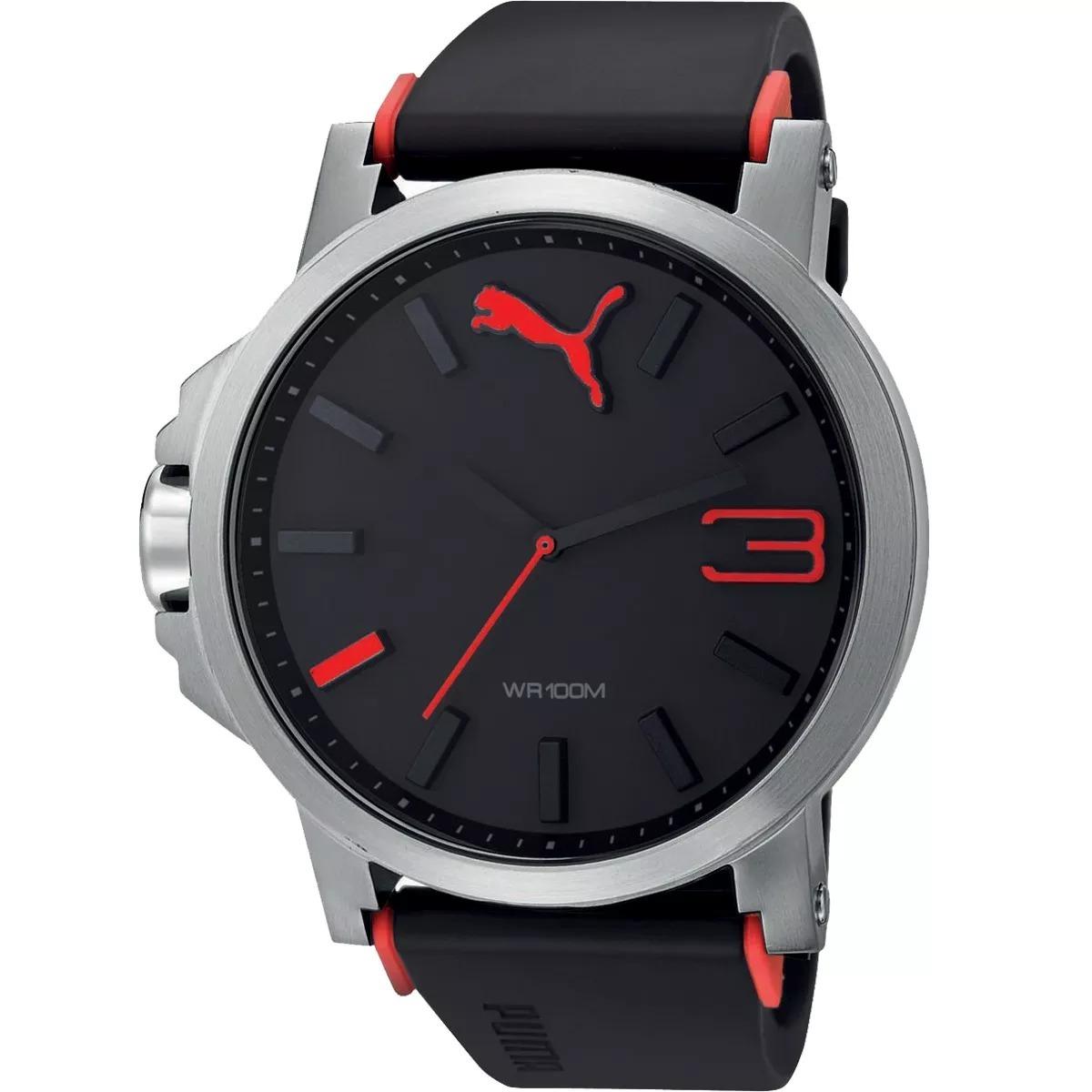 1b6446e9e7d Relógio Puma Masculino Vermelho Original 12xs juros Sedex - R  3.000 ...