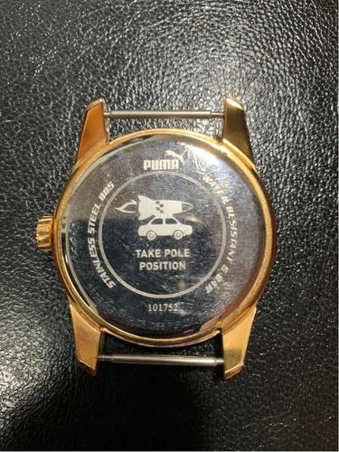 relógio puma original analógico - sem pulseira