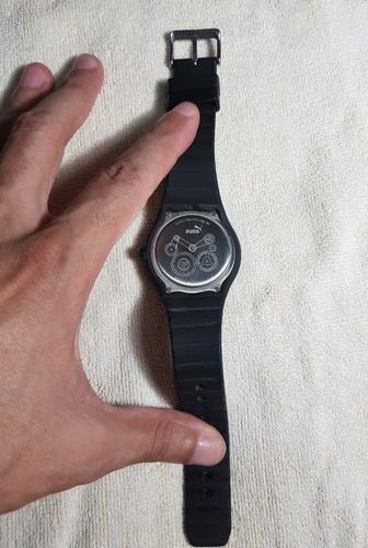 relógio puma sport preto