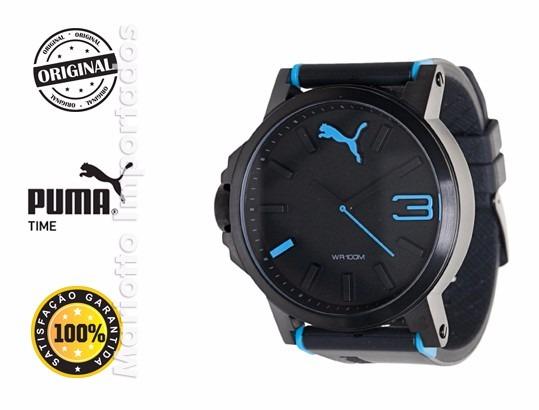 30189f2fdd4 Relógio Puma Ultrasize Azul - Pronta Entrega + Brinde - R  275