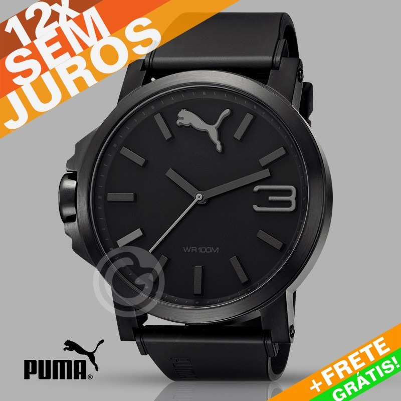 23e0f36f2a0 Relógio Puma Ultrasize - Original Importado Eua - R  359