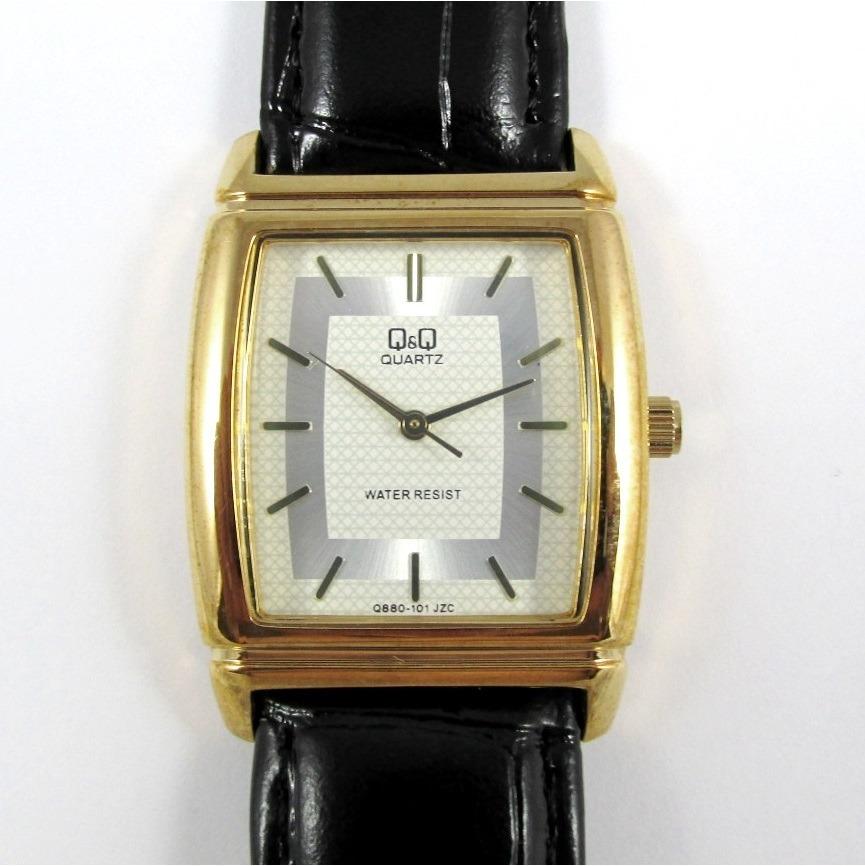 3c587fcbd1b relógio q   q miyota masculino pulseira de couro q880j101y. Carregando zoom.