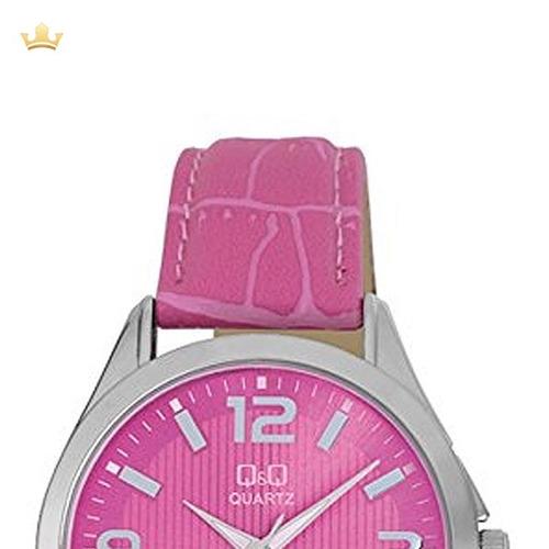 relógio q&q by japan feminino c192j315y c/ garantia e nf