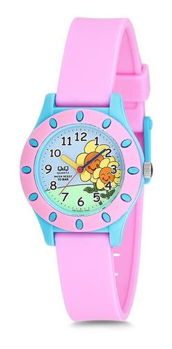 relógio q&q by japan infantil vq13j007y c/ garantia e nf