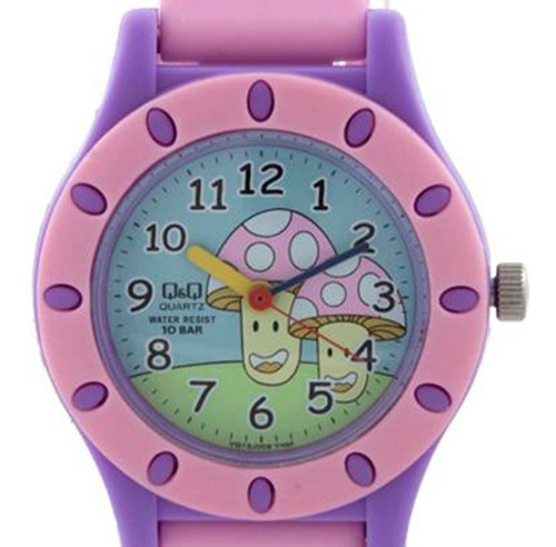 relógio q&q by japan infantil vq13j009y c/ garantia e nf