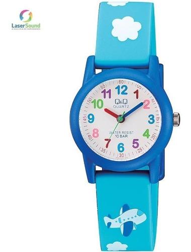 relógio q&q by japan infantil vr99j005y com garantia e nf
