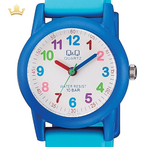 relógio q&q by japan infantil vr99j005y com nf