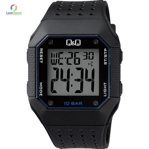 relógio q&q by japan masculino m158j003y c/ garantia e nf