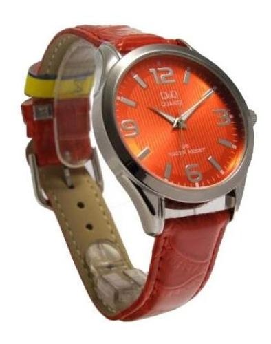 relógio qq c192vermelho fabricado por citizen alta qualidade