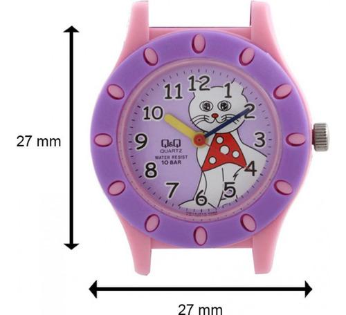 relógio q&q citizen infantil feminino vq13j010y prova d'água