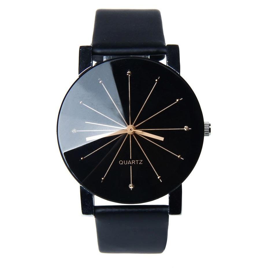 db5a2c9145c Relógio Quartz Feminino Couro Preto