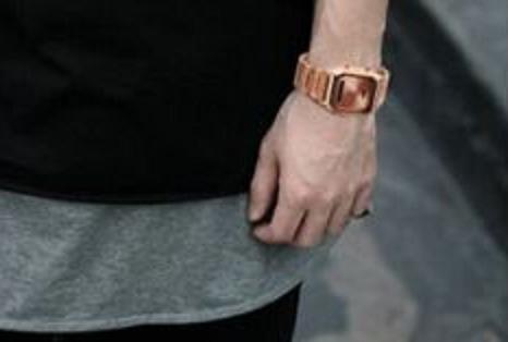 relógio quartz skmei retro elegante rose oferta imperdivel