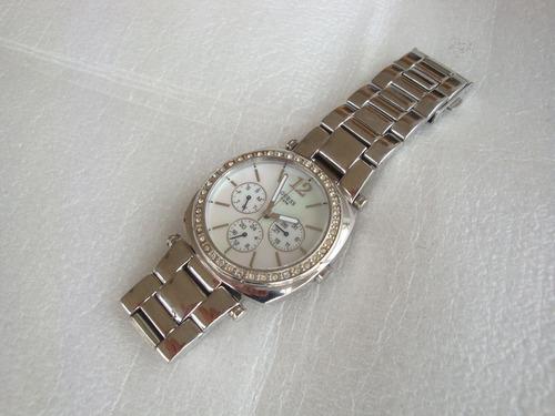 relogio quartz w11003l1 guess japan mov t - usado no estado