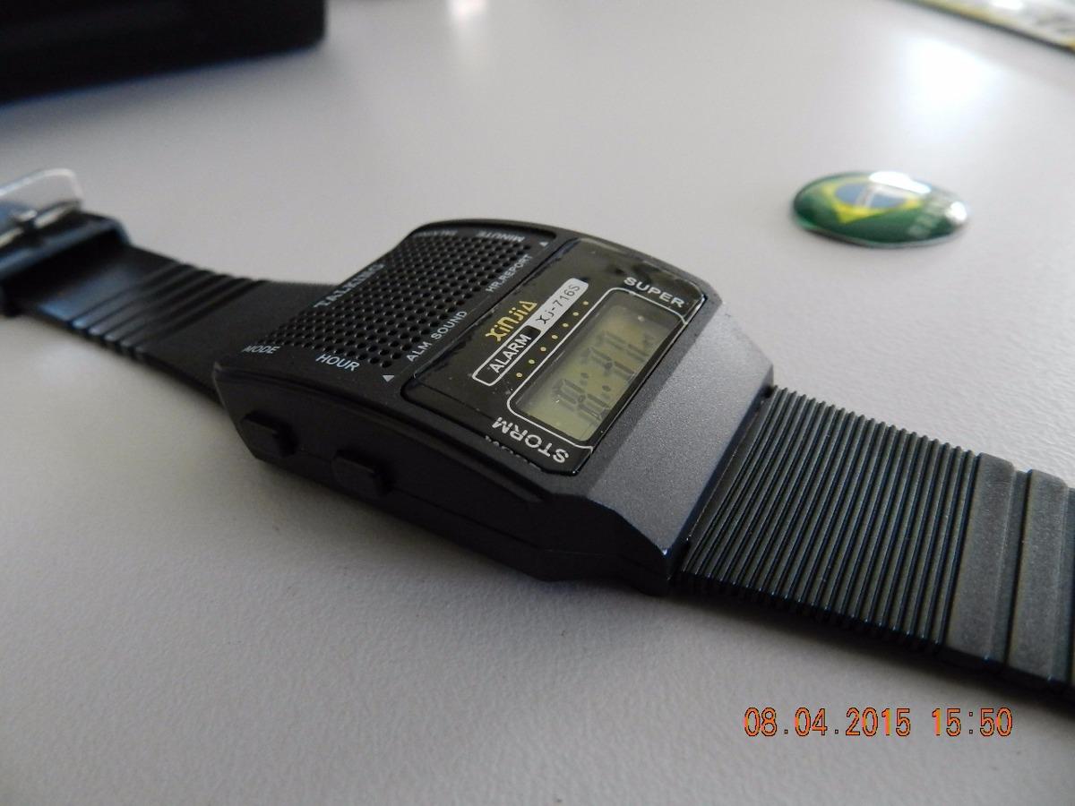 dbf882434ae relógio que fala a hora-espanhol. Carregando zoom.