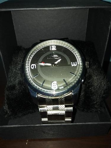 relógio quicksilver prata a prova d'água