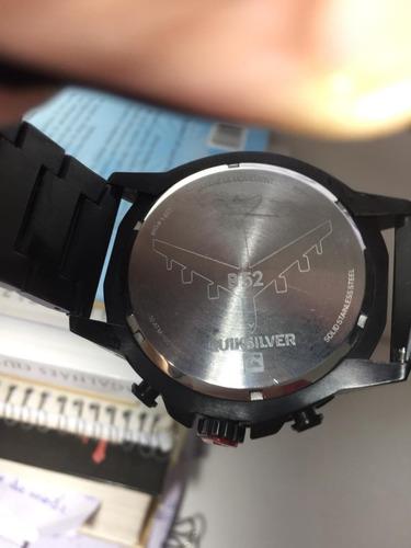 relógio quiksilver b52 gold