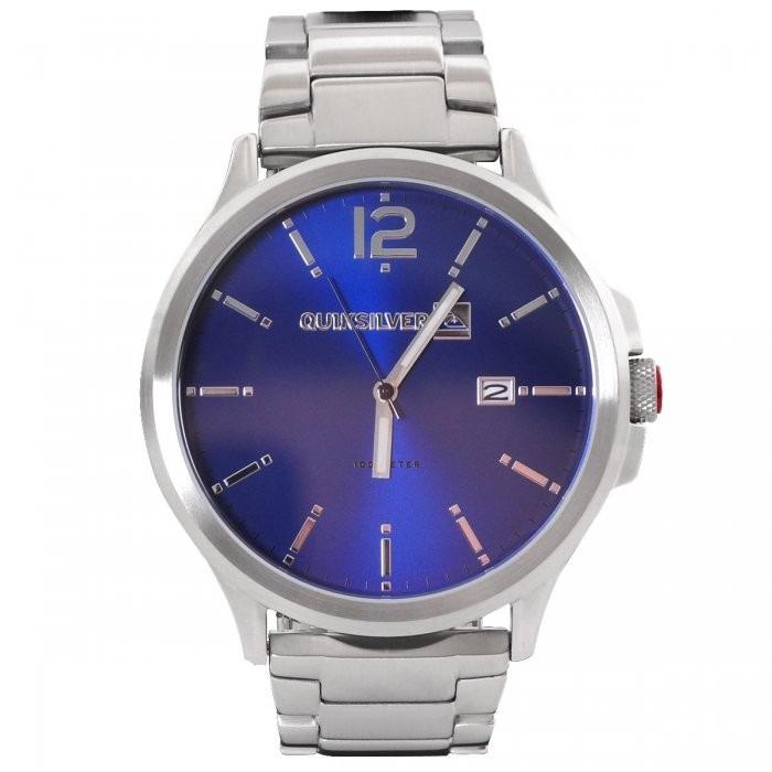 f1d03262651 Relógio Quiksilver Beluka Aço Azul M154bf Cgls Original - R  899
