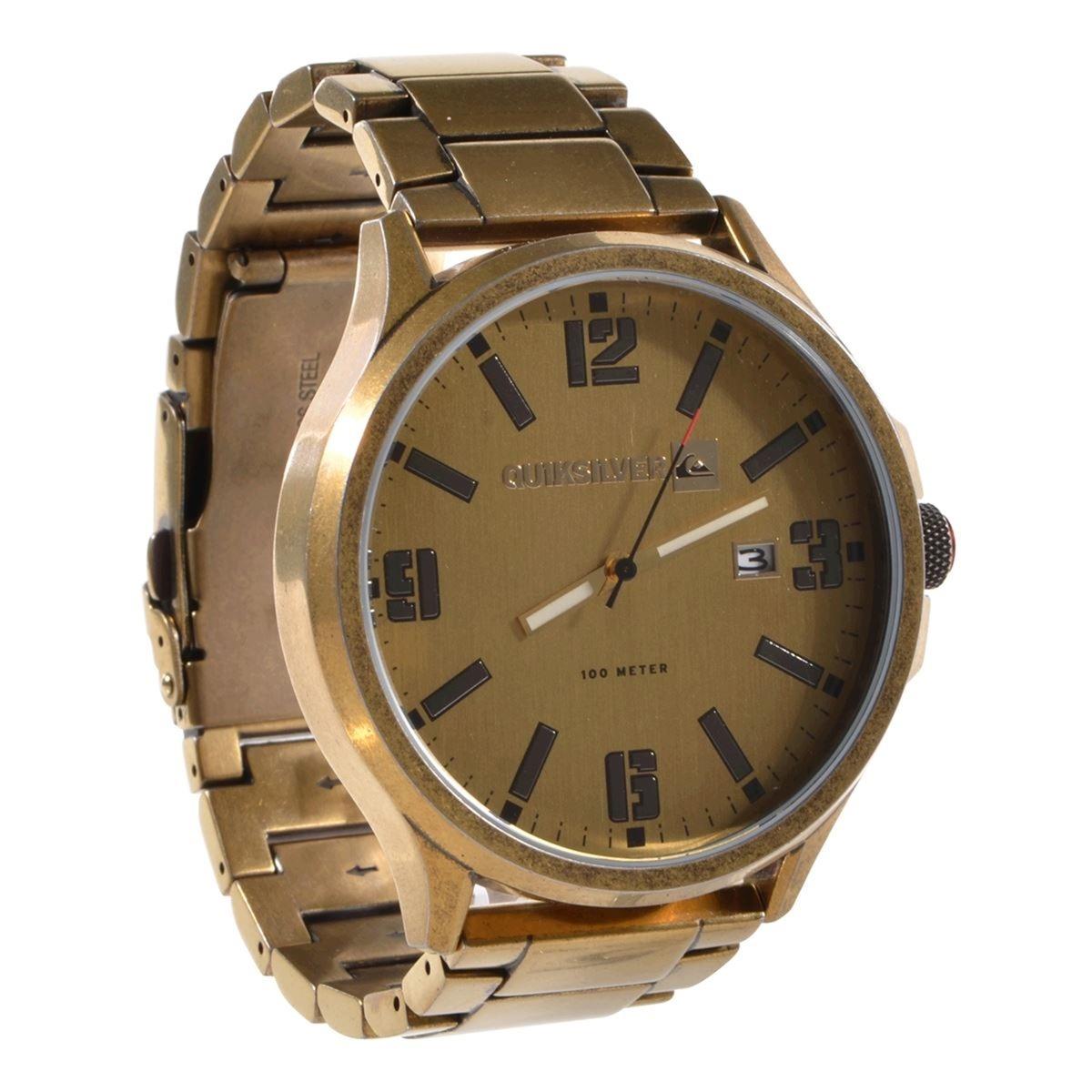 12cf8171e70 relógio quiksilver beluka antique gold. Carregando zoom.