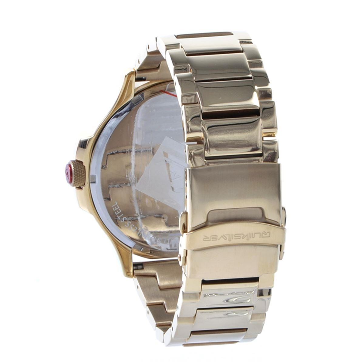 1d91bec04d6 relógio quiksilver beluka gold black. Carregando zoom.