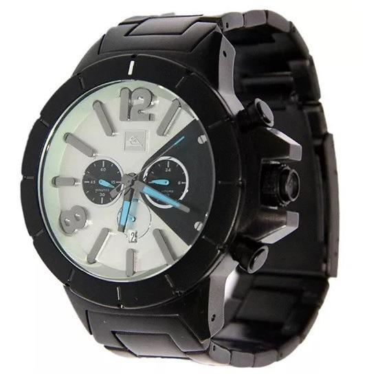92e0692711a Relógio Quiksilver Kaspian Metal Preto - R  599
