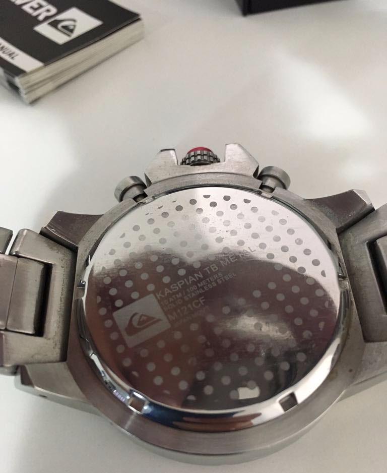 b85fbe5b821 relógio quiksilver kaspian tb metal original frete grátis. Carregando zoom.