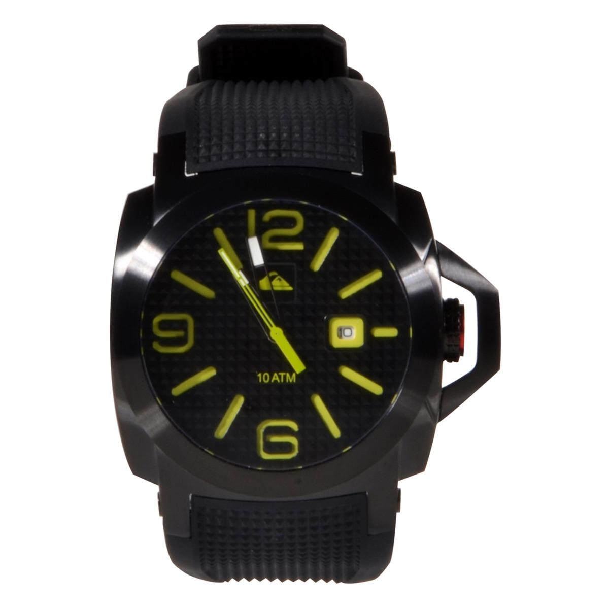 7e692c5ef88 relógio quiksilver luma lanai black lime. Carregando zoom.