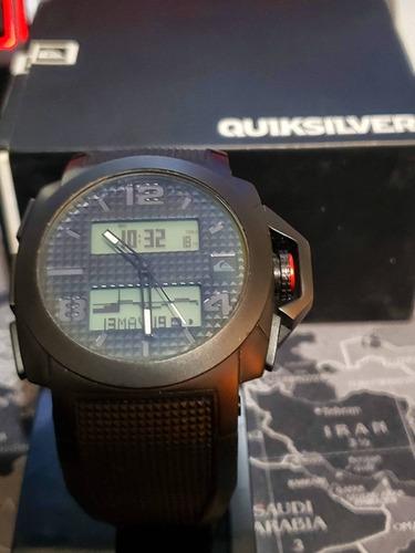 relógio quiksilver molokai preto