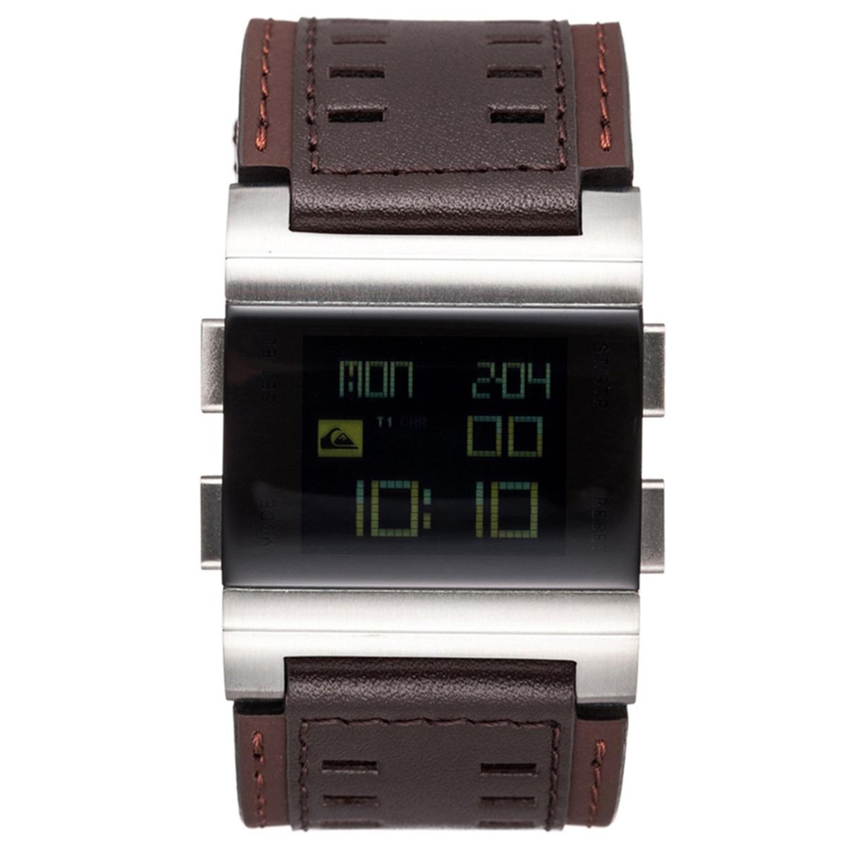 3d352bd6f6a relógio quiksilver random brown. Carregando zoom.