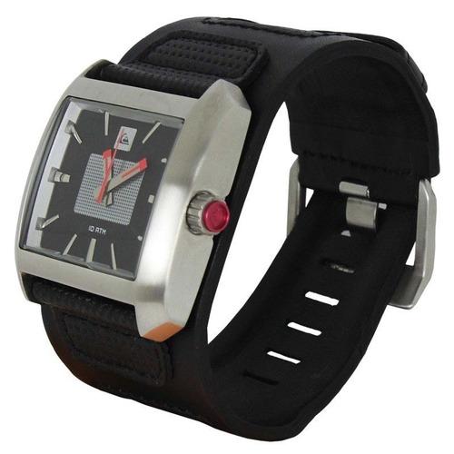 7acfd55c9c1f4 Relógio Quiksilver Sequence Black - R  490,00 em Mercado Livre