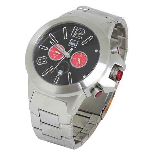 relógio quiksilver silver