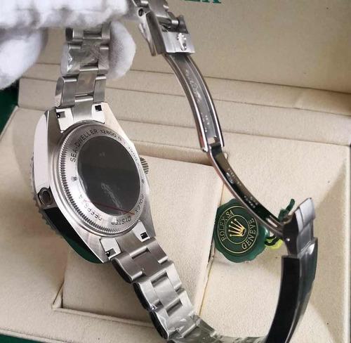 relógio r masculino deepsea - com caixa verde