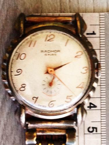 relógio radmor em metal