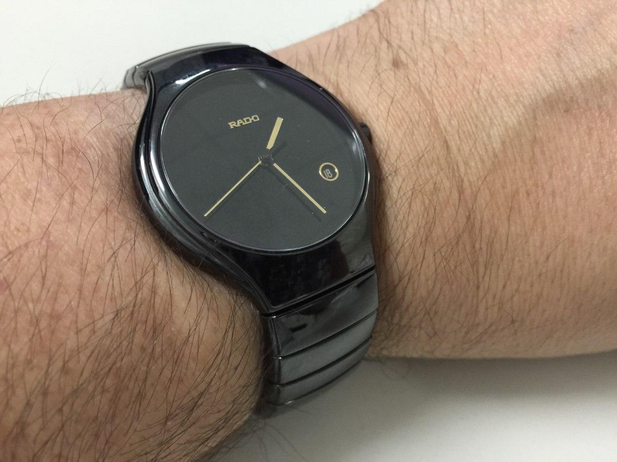 efd762bd32d Relógio Rado Linha Premium Cerâmica E Safira - R  2.999