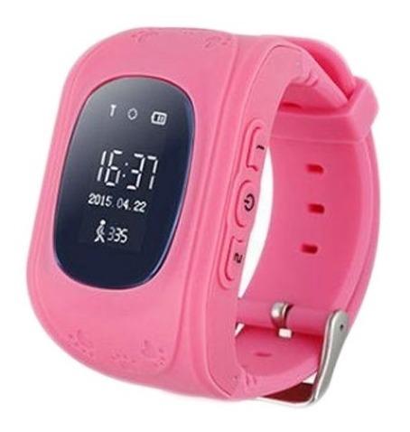 Relógio Rastreador Infantil Q50 Gps Lbs Localizador Idoso
