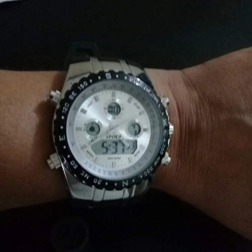relógio readeel esporte à prova d' água led digital grande