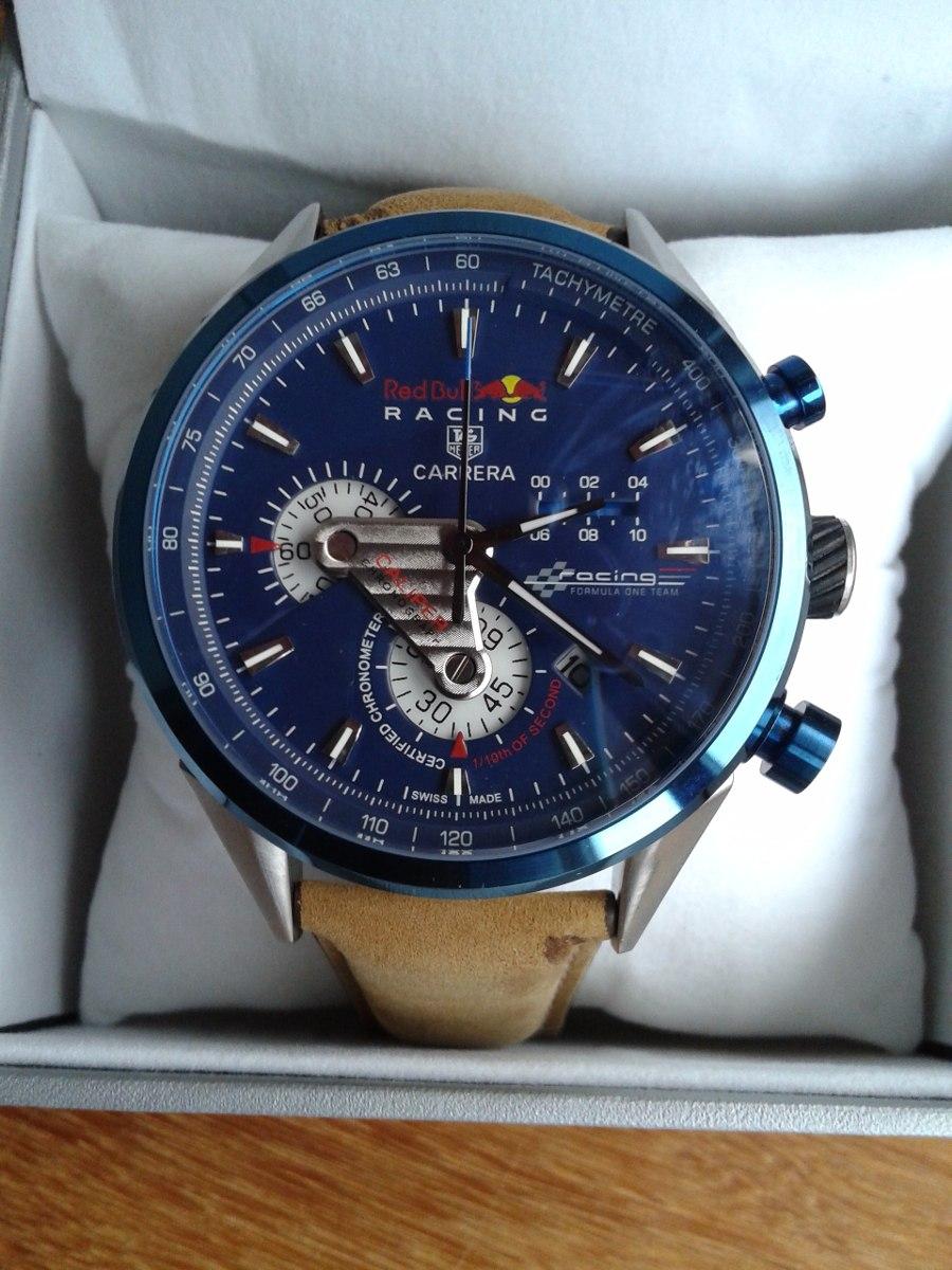 79c03384633 relógio red bull racing carrera tachymetre frete grátis. Carregando zoom.