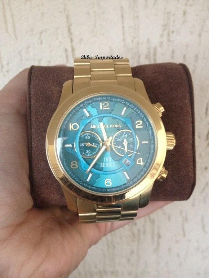 7143281f4f6 relógio relogio michael kors mk8315 mapa 100% original. Carregando zoom.