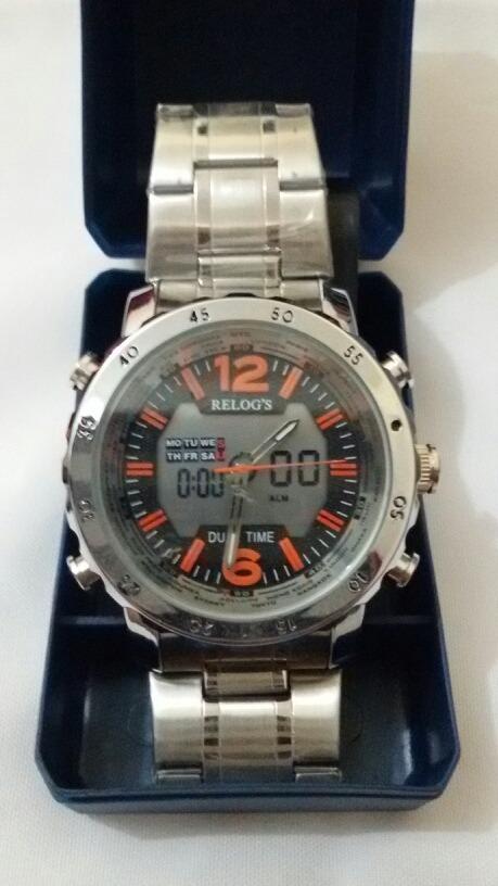 b67076b453c relógio relog s masculino original à prova d água. Carregando zoom.
