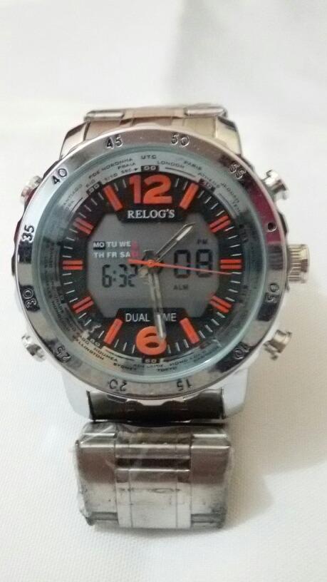 60161c59dca relógio relog s masculino original à prova d água. Carregando zoom.