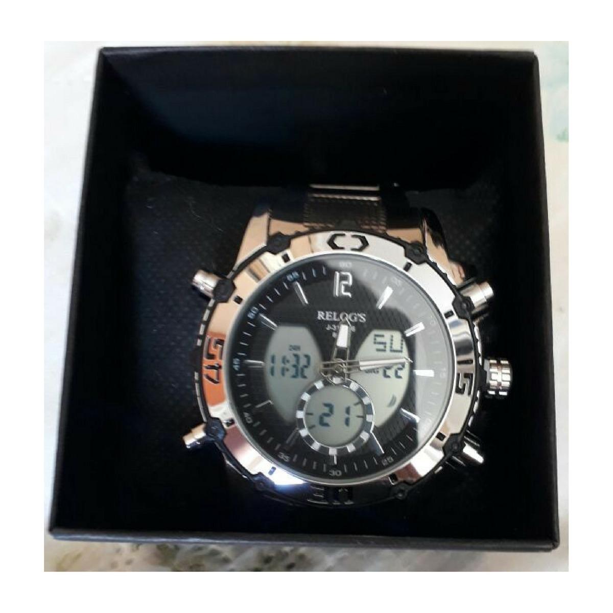 88c58a55ca2 Relógio Relog s Prova D Água Modelo Rr8110 - Frete Grátis - R  119 ...