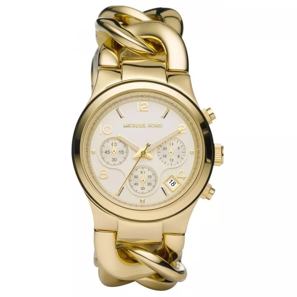 b9e22a48b15b7 Relógio Rft5984 Michael Kors Mk3131 Dourado Puls. Corrente - R  377,76 em  Mercado Livre