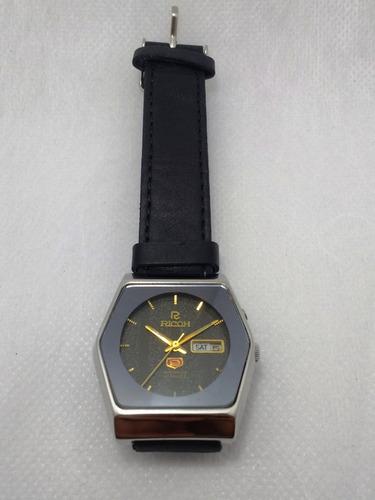 relógio ricoh automático de coleção. raro perfeito estado.