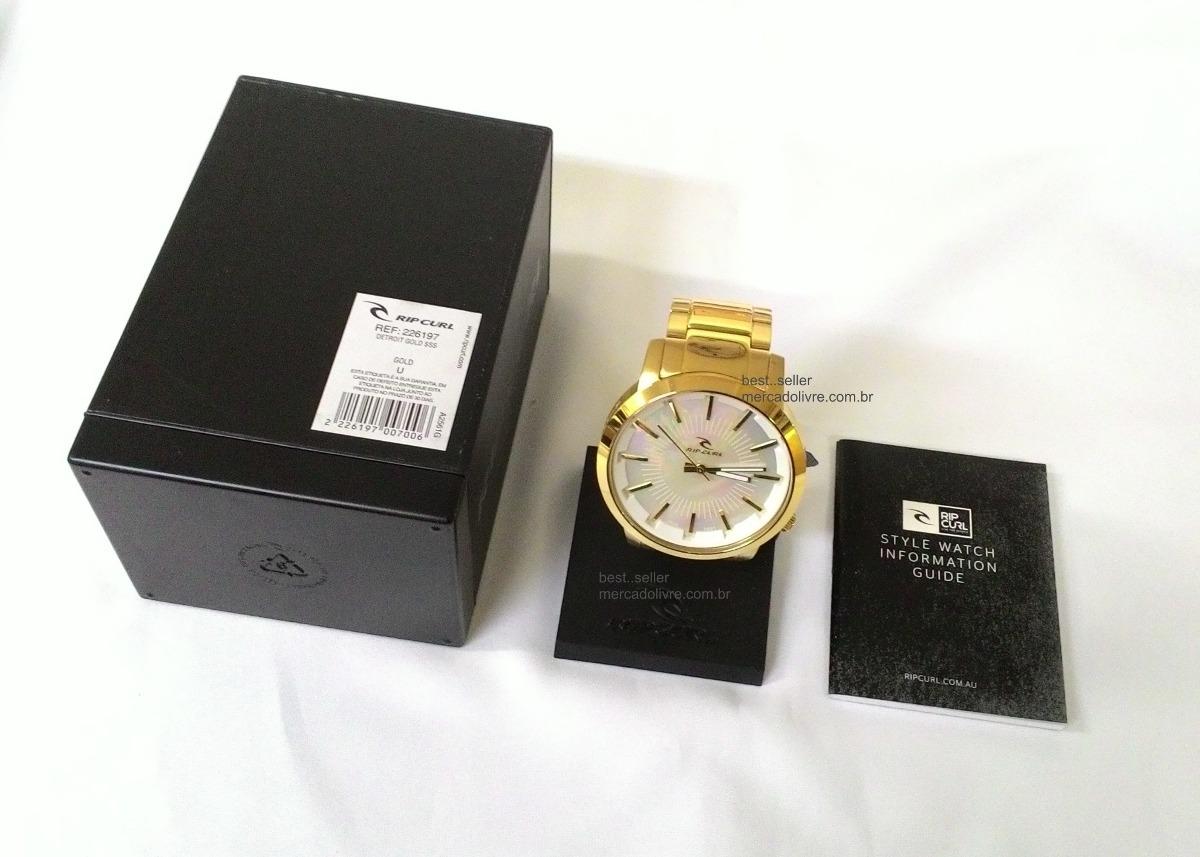 4650b53991b ... detroit gold a2561 dourado branco. Carregando zoom... relógio rip curl. Carregando  zoom.