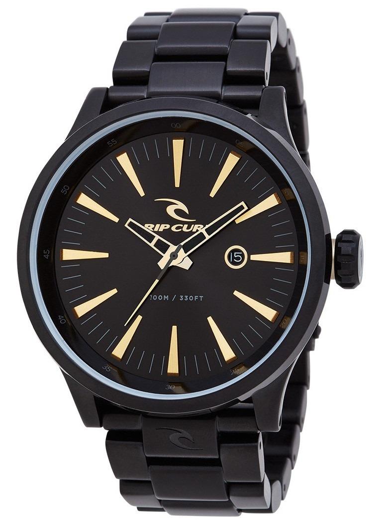 10a3b4b2770 Relógio Rip Curl Recon Xl Midnight Gold A2851 Detroit Preto - R ...